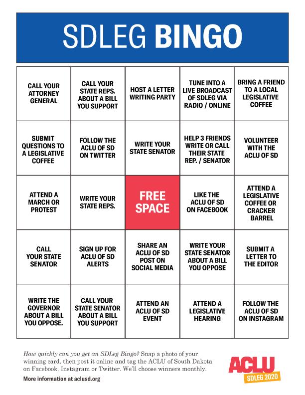 SDLEG-Bingo 2020
