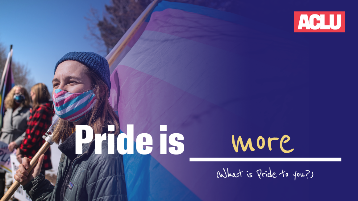 Pride is more image