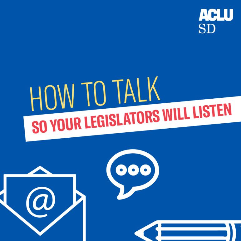 How to Talk So Legislators Will Listen