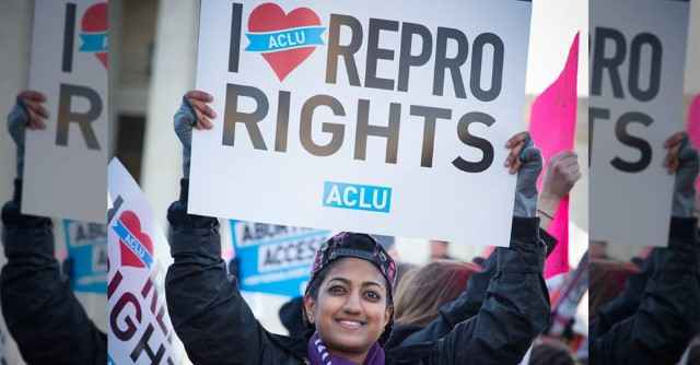 Reproductive Rights Demonstration