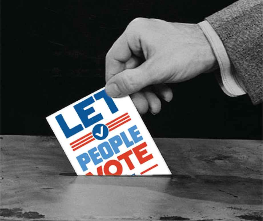 Let People Vote Casting ballot