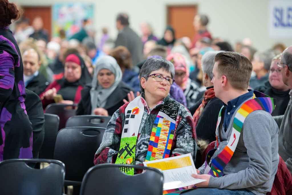 Photo of an Interfaith Vigil