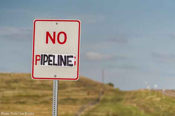 no pipeline sign