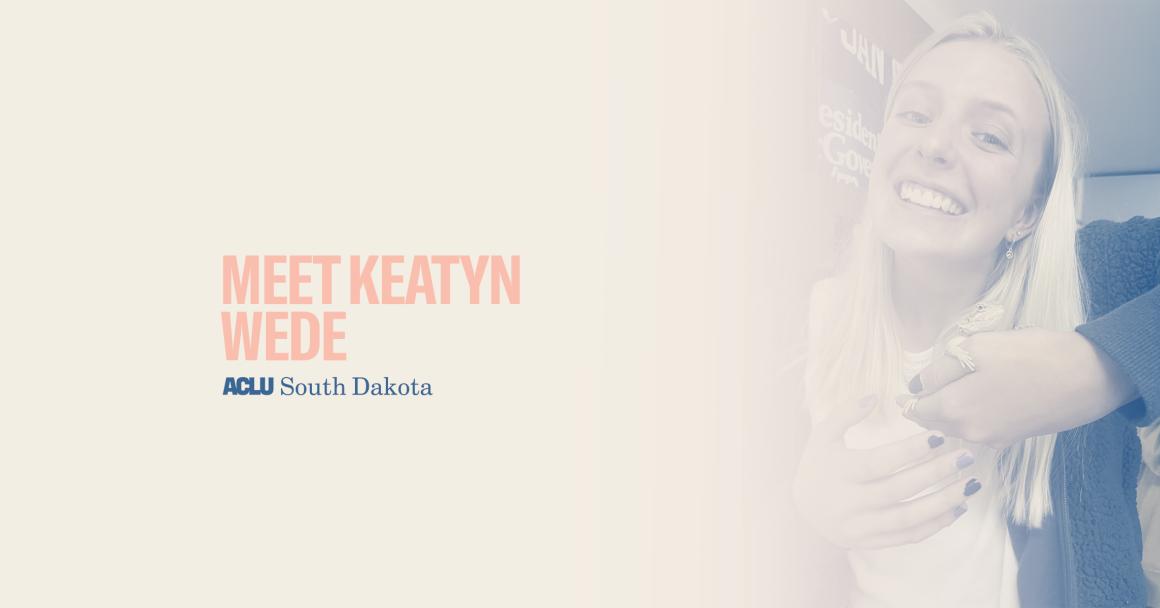 We the People Banner - Keatyn Wede